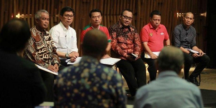 Tiga Calon Ketua Umum PSSI Absen, Enam Orang Dibombardir Tiga Panelis