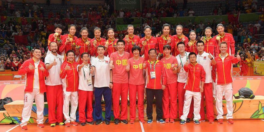 Raih Medali Emas Asian Games, Tim Voli Putri China Jadi Skuat Terbaik Dunia