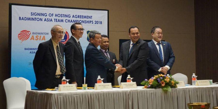 Anton Subowo Kembali Terpilih sebagai Presiden Badminton Asia