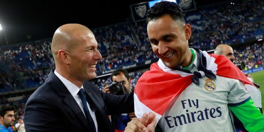 Navas Tak Butuh Pembelaan Zidane