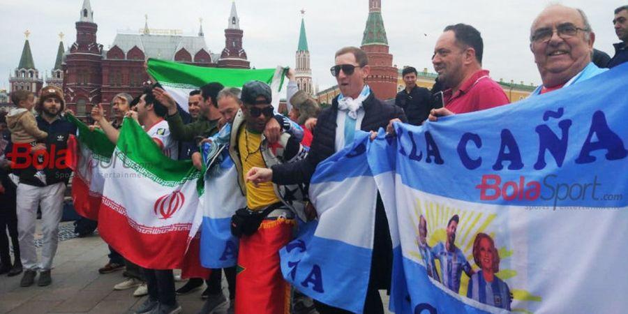Bahasa Russia Susah, Suporter Berbagai Negara Tak Urungkan Niat Datang ke Moskow dan Meriahkan Piala Dunia 2018