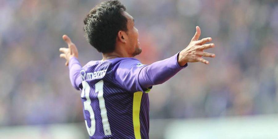 Teerasil Dangda Cetak Sejarah Baru di Liga Jepang
