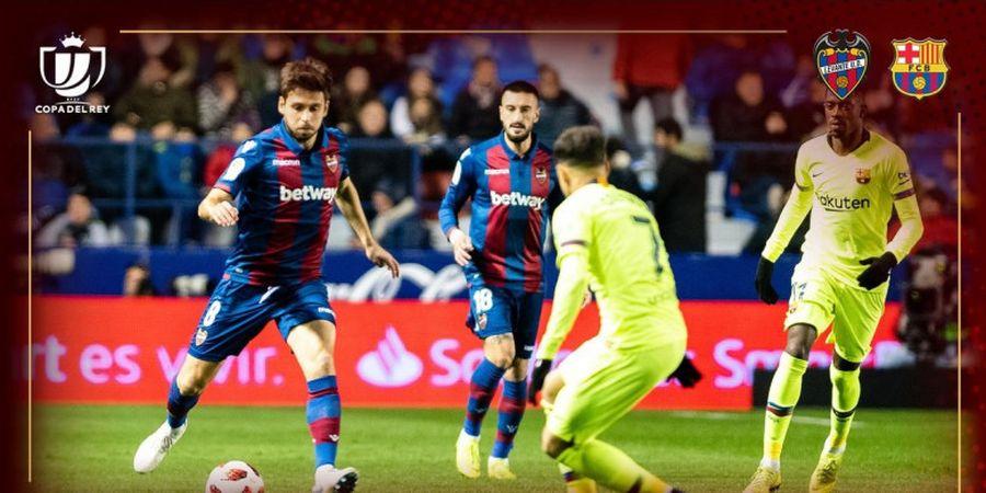 Barcelona Akui Tertidur Saat Kalah 1-2 dari Levante