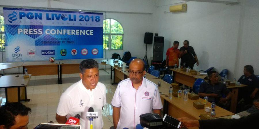 PGN Livoli 2018 Jadi Persiapan Timnas Voli Indonesia untuk SEA Games 2019