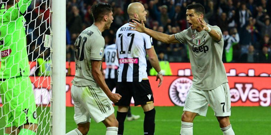 Susunan Pemain Juventus Vs Genoa - Cristiano Ronaldo Hadapi Top Scorer Liga Italia