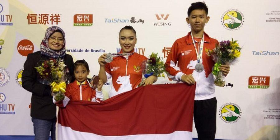 Bangga! Kontingen Wushu Indonesia Raih 10 Medali pada Kejuaraan Dunia Junior