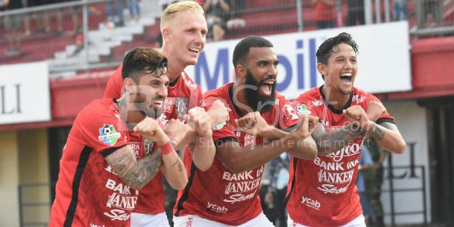 Pemain Bali United Ini Disejajarkan dengan Mantan Bintang Napoli dan PSG