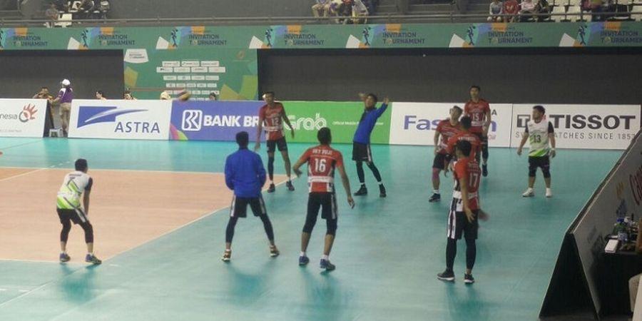 Tim Voli Putra Indonesia 1 Raih Poin Penuh atas Hong Kong pada Laga Ke-2 Test Event Asian Games