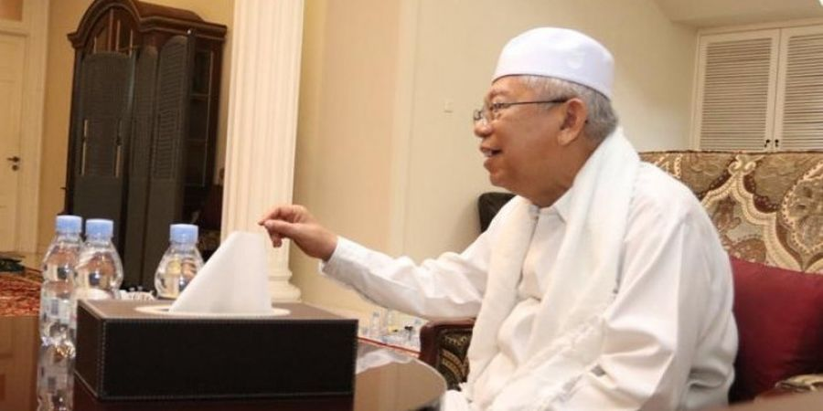 Ma'ruf Amin: Timnas Indonesia Jangan Jadi Tim KW Terus