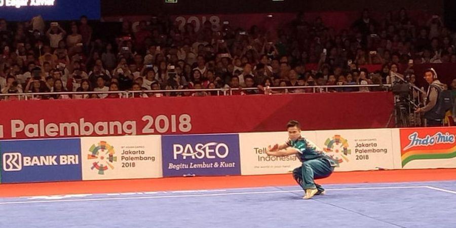 Marvelo Menangis Usai Raih Medali Pertama bagi Indonesia di Asian Games 2018