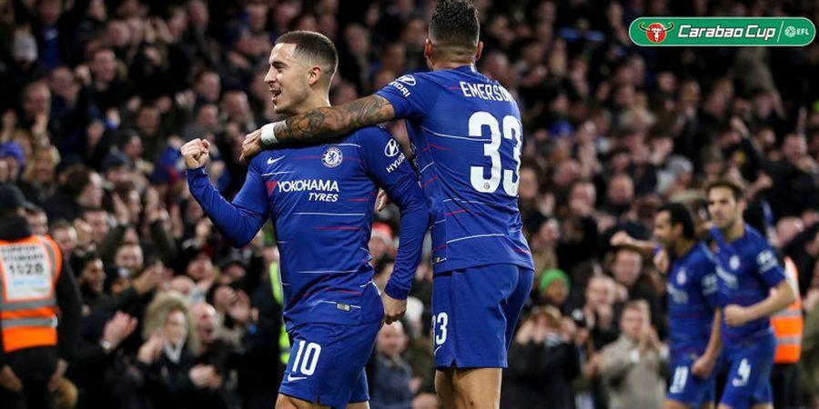 Christian Pulisic Datang, Eden Hazard Semakin Dekat Berpisah dengan Chelsea