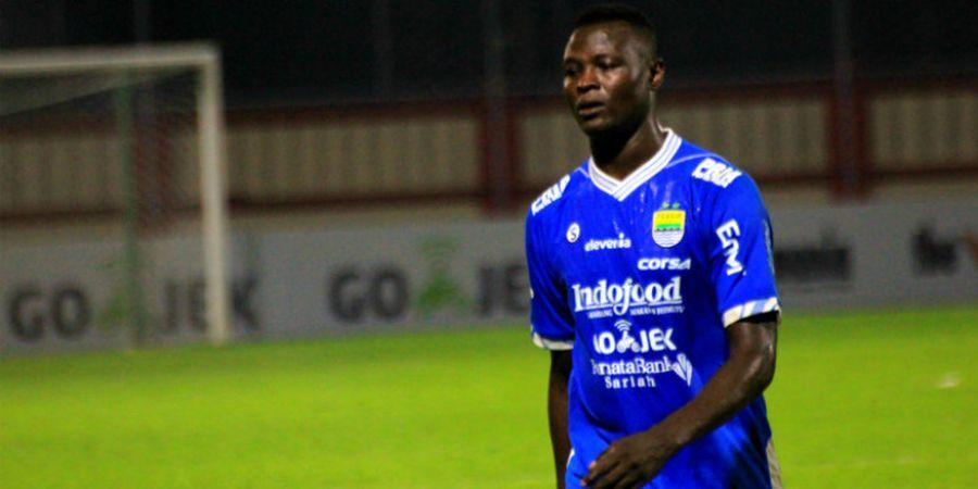 Tim Pelatih Persib Beri Banyak Tuntutan untuk Ezechiel N Douassel