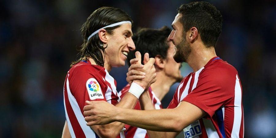 Hasil Liga Spanyol, Atletico Geser Sevilla dari Tiga Besar