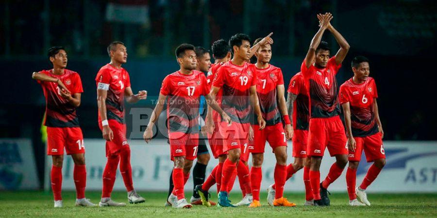 Susunan Pemain Timnas U-23 Indonesia VS UEA, Satu Wajah Baru Hiasi Lini Pertahanan