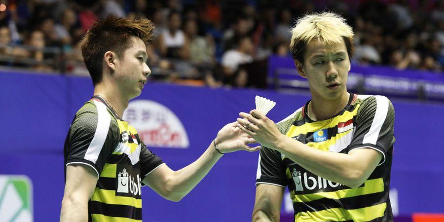 Link Live Streaming China Open 2018 - Diawali Marcus/Kevin, 12 Wakil Indonesia Berjuang Lolos dari Babak Kedua