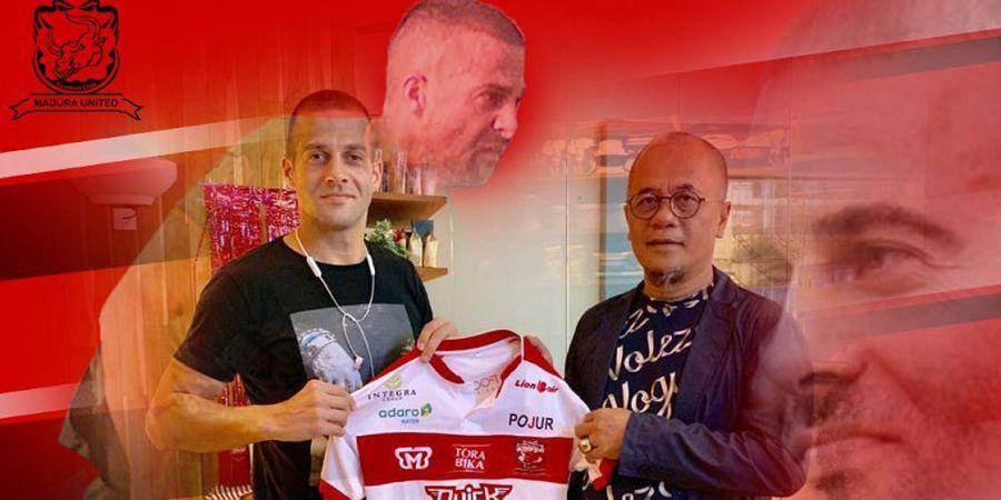 Aleksandar Rakic Akan Tiba di Madura United Sore Ini