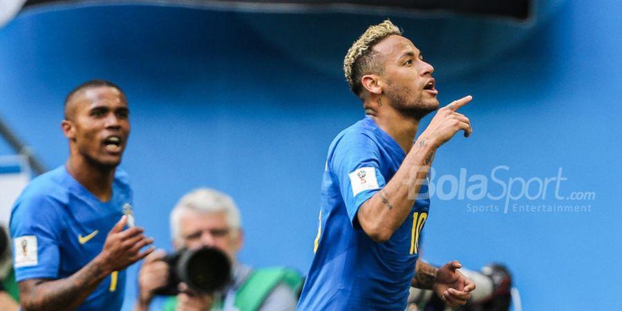Hasil Laga Persahabatan Pagi Ini - Brasil Menang Telak, Argentina Bermain Imbang Tanpa Gol