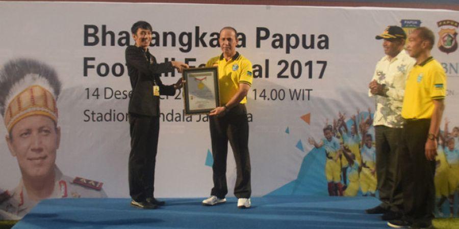 Bhayangkara Papua Football Festival 2017: Rekor MURI dan Masa Depan Cerah Sepak Bola Papua