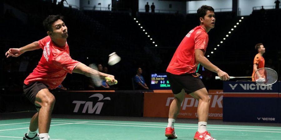 Hasil Indonesia Masters 2019 - Berry/Hardianto Disisihkan Wakil Jepang