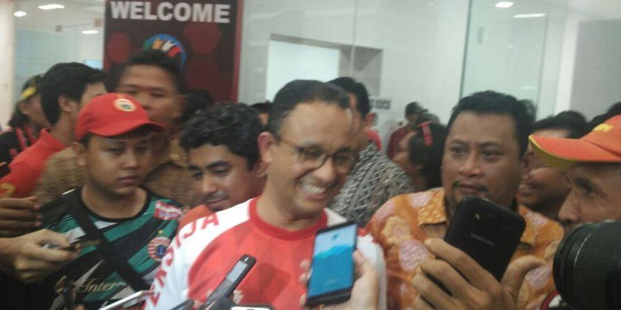 Anies Baswedan Berpeluang Hadiri Leg Kedua Final Piala Indonesia 2018