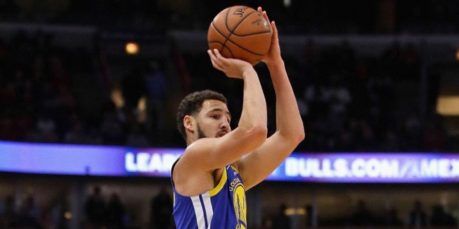 Hasil NBA 2018-2019 - Klay Thompson Bikin Rekor Tripoin, Warriors Jinakkan Bulls