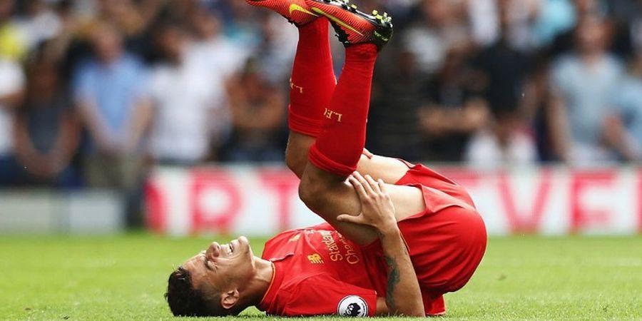 Setelah Lallana Cedera, Liverpool Waswas dengan Kondisi Coutinho