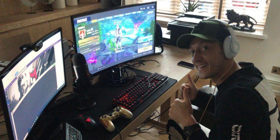 Kecanduan Main Game Online Jadi Penyebab Misterius Cedera Punggung Mesut Oezil