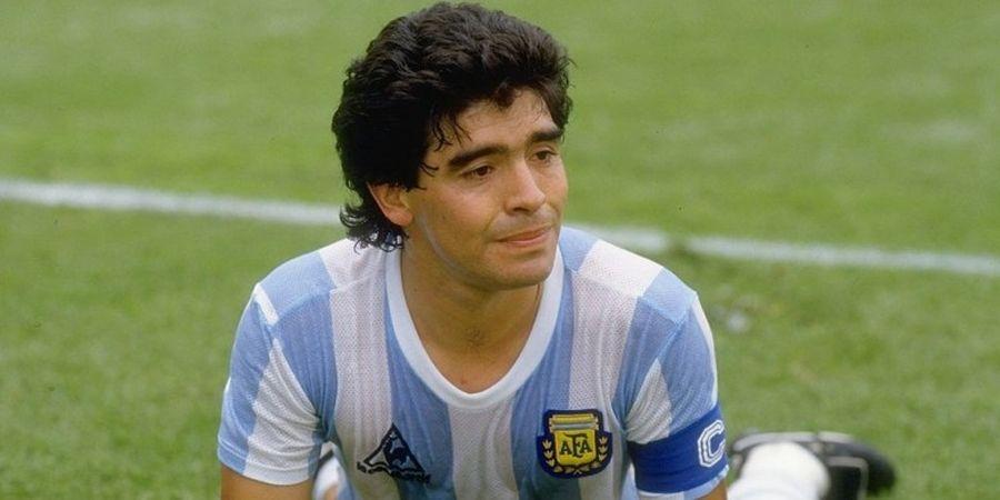 On This Day - Bocah 21 Tahun, Diego Maradona Cetak Gol Perdana di Piala Dunia