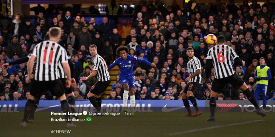 Hasil Liga Inggris - Dua Gol Teknik Tinggi Antarkan Chelsea Libas Newcastle