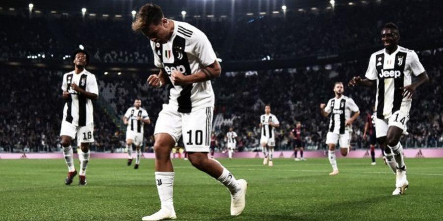Juventus Vs Bologna - Nyonya Tua Menang Enam Kali Beruntun, Paulo Dybala Pecah Telur