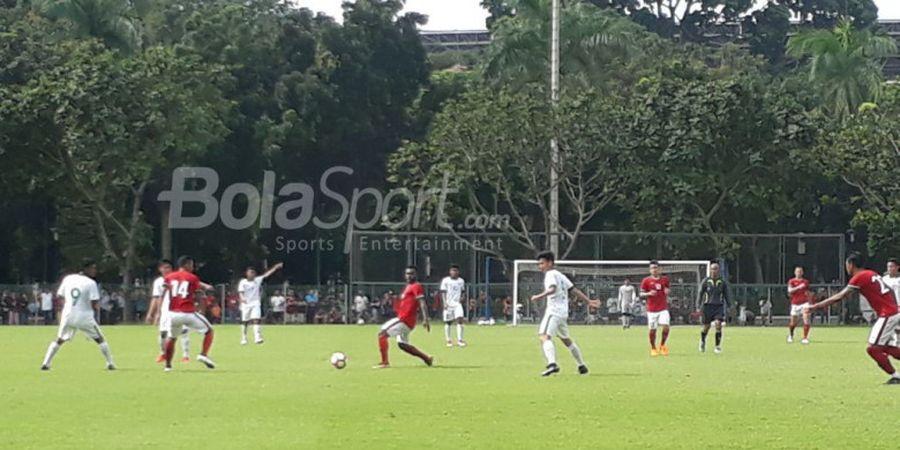 Timnas U-23 Indonesia Menang Telak atas Timnas U-19
