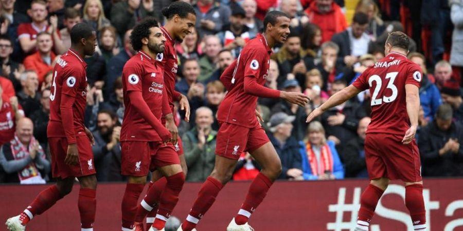 Klasemen dan Top Scorer Liga Inggris: Liverpool Sendirian, Eden Hazard Tidak