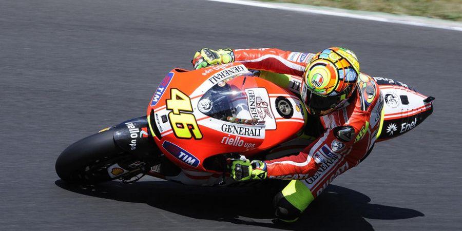 Valentino Rossi: Bukan Waktu yang Tepat untuk Kembali ke Ducati