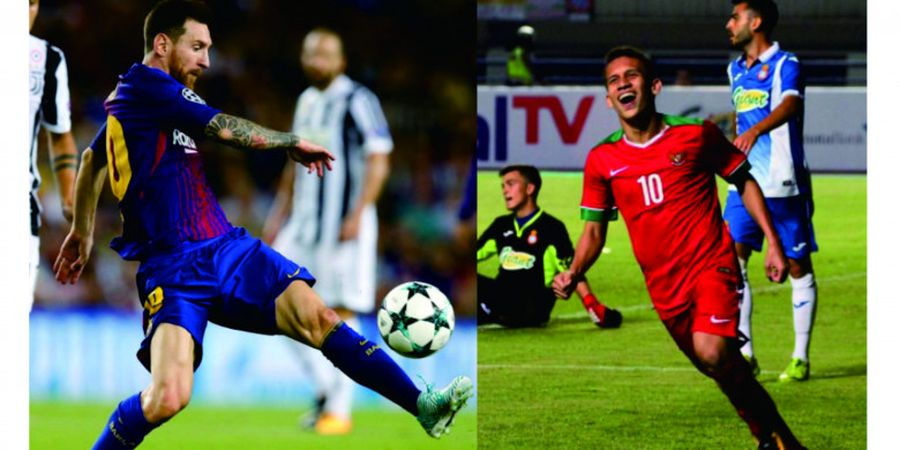 Egy Maulana Vikri Tegaskan Enggan Disamakan dengan Lionel Messi