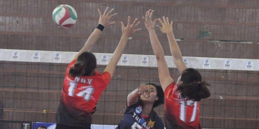 Tim Putri TNI AU Tembus Babak Semifinal Divisi Utama PGN Livoli 2018