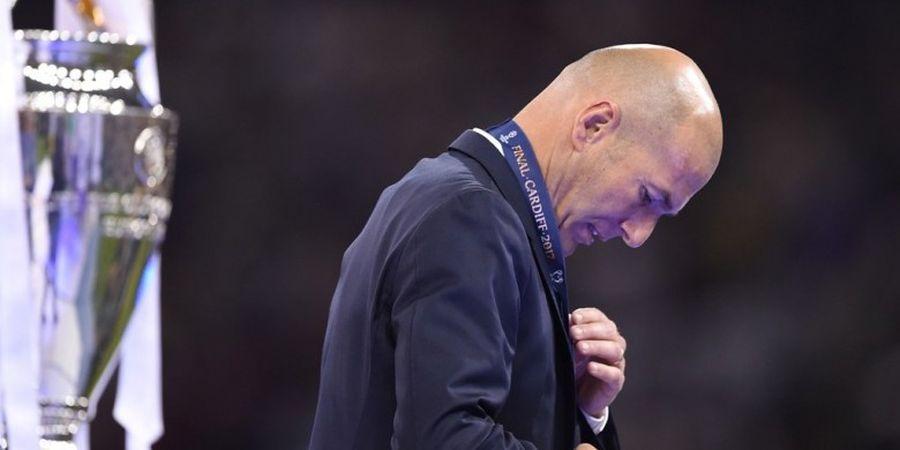 Zidane Benarkan Permintaan Ronaldo untuk Hengkang
