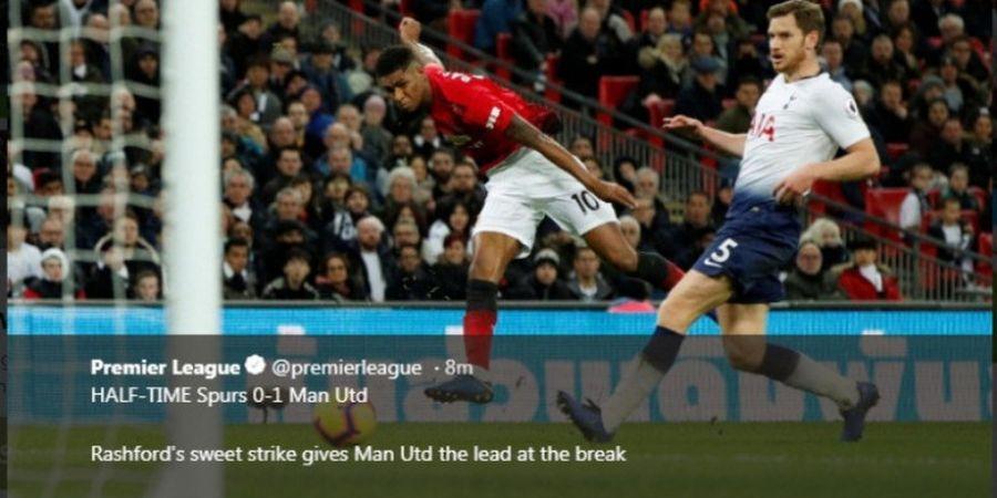 Man United Menang di Kandang Spurs Berkat Rashford dan Kaki Ajaib De Gea