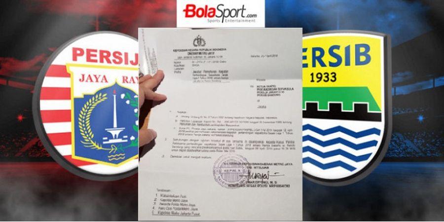 BREAKING NEWS - Persija Vs Persib di Stadion Utama GBK 28 April 2018 Batal!