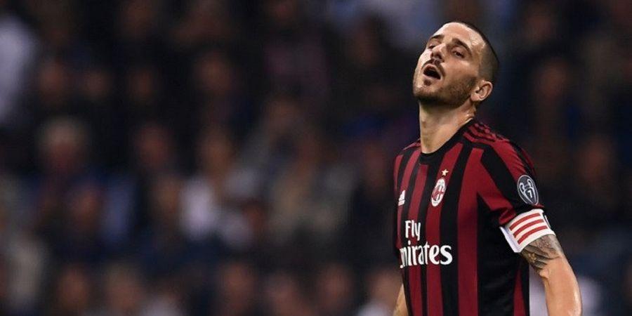 Kapten AC Milan Leonardo Bonucci Cuma Daniele Bonera Versi Mahal