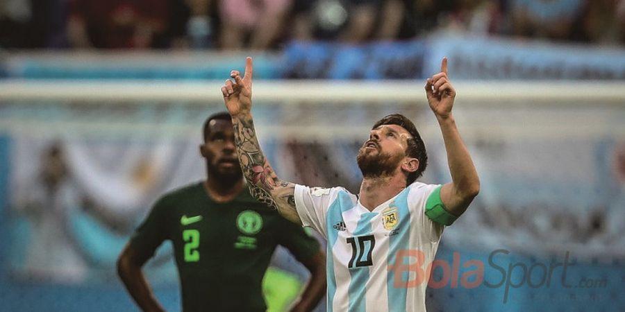 Lionel Messi Frustrasi, Ever Banega: Itu Wajar