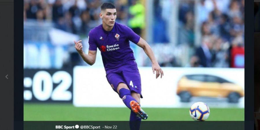 Manchester United Tawar Bek Fiorentina Titisan Nemanja Vidic