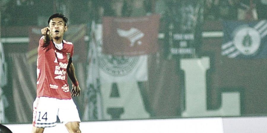 Cetak 2 Gol, Fadhil Sausu Puji Tim dan Suporter  Bali United