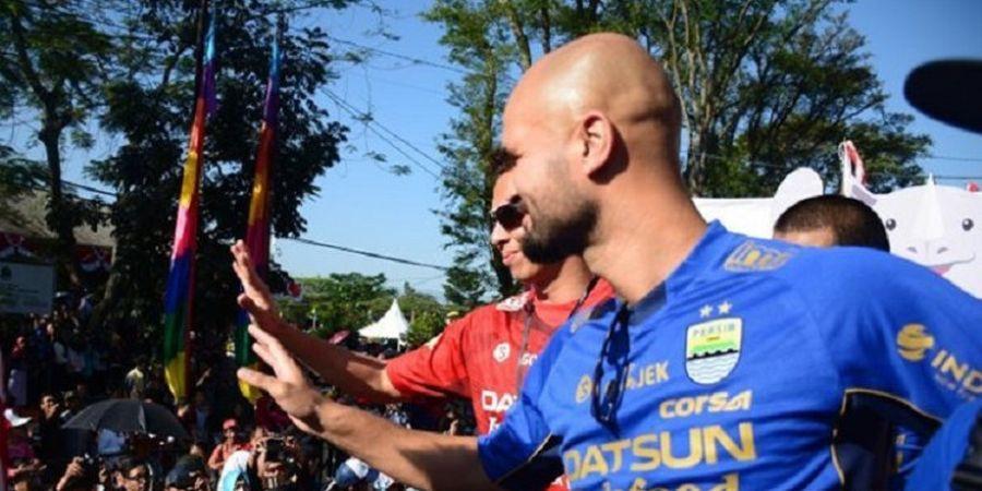 Kabar Anyar soal Profesi Baru dari Eks Striker Mahal Persib Bandung