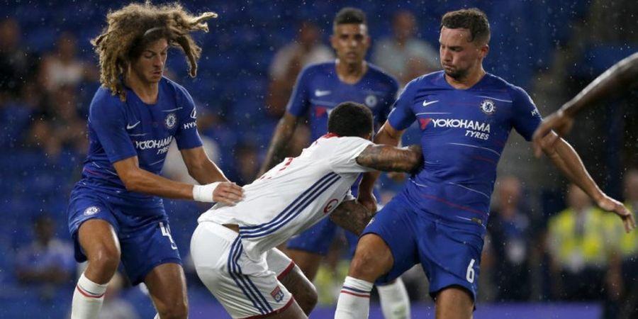 Chelsea Vs Olympique Lyon - Eden Hazard Tentukan Kemenangan The Blues