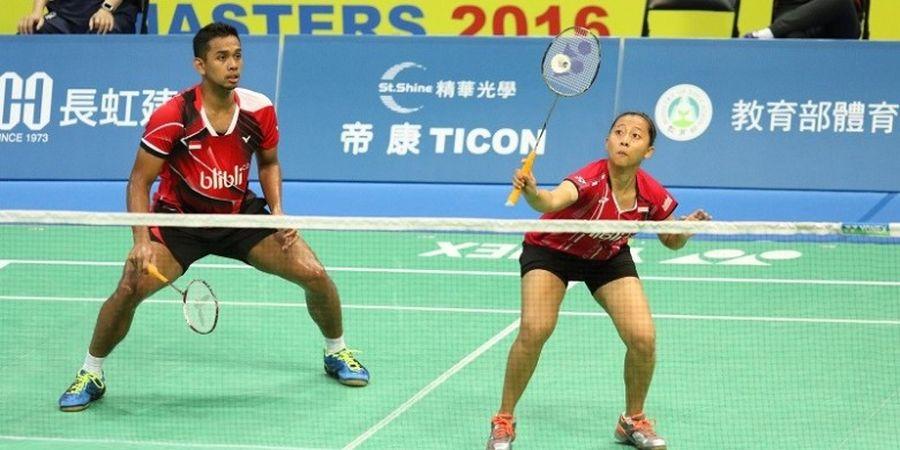 Dua Ganda Campuran Indonesia Melaju ke Babak Kedua Taiwan Masters