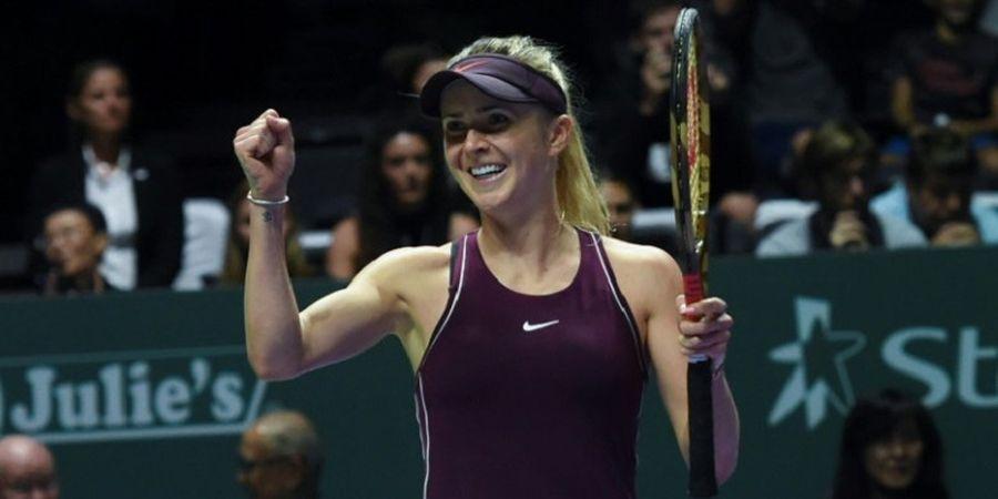 WTA Finals 2018 - Elina Svitolina Sukses Kubur Impian Caroline Wozniacki Mempertahankan Gelar Juara