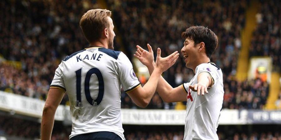 Tottenham Menang Telak, Kane Selevel dengan Luis Suarez