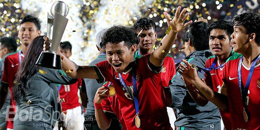 Video Timnas U-16 Indonesia Kontra Timnas U-16 Oman, Bagus Kahfi Cetak Hatrik