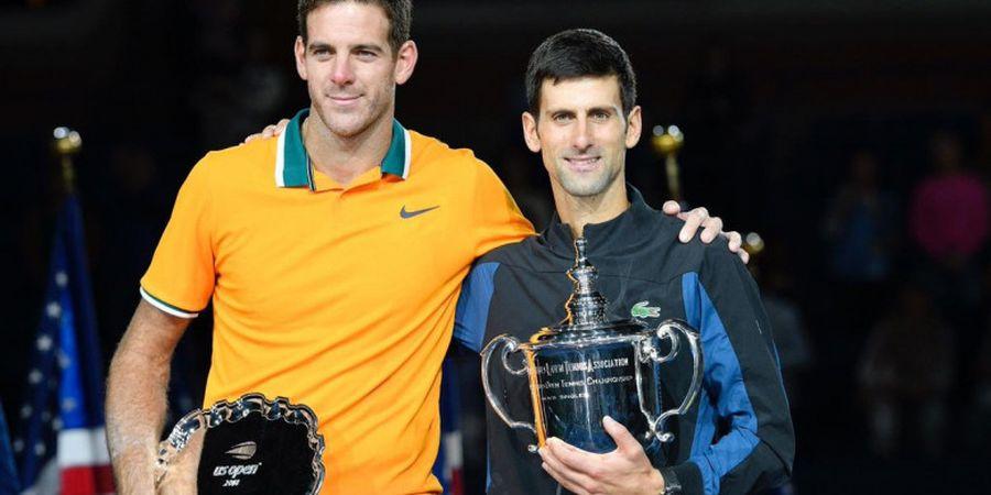 Ucapan Cinta Juan Martin del Potro untuk Fans Usai Kalah pada Final US Open 2018