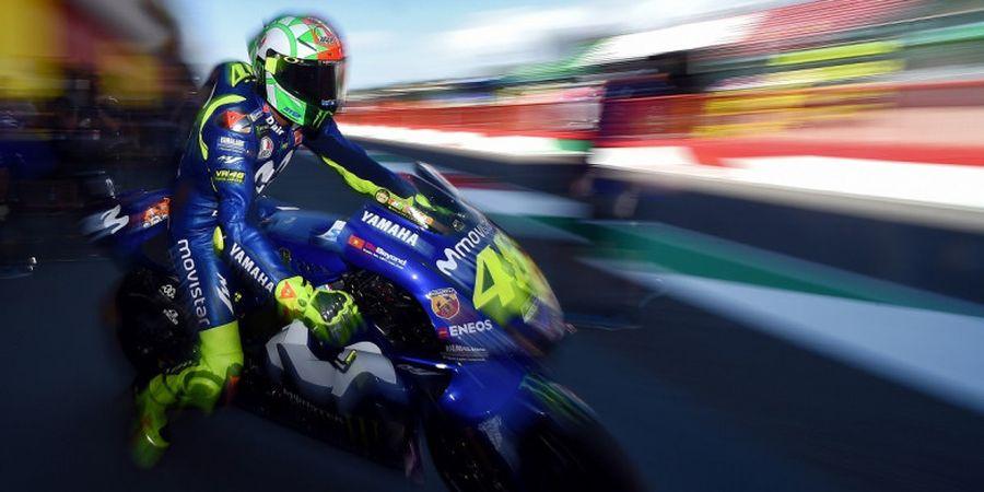 Hasil 'Warm Up' MotoGP Italia 2018, Valentino Rossi Posisi Ke-7